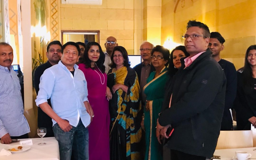CONSUL GENERAL OF SRI LANKA ENGAGES IN PUBLIC OUTREACH WITH THE SRI LANKAN EXPATRIATE COMMUNITY IN GERMANY IN THE PROMOTION OF RECONCILIATION